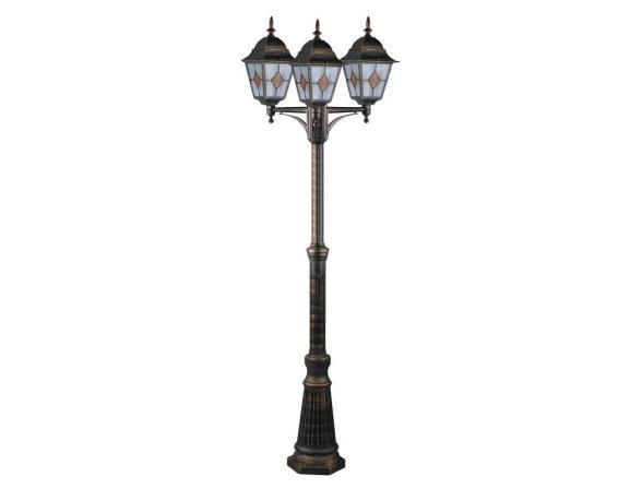 Светильник уличный наземный ARTELAMP BERLIN A1017PA-3BN