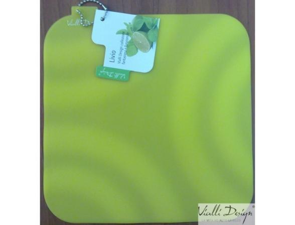 Подставка под горячее Vialli Design зеленая SIL-1G