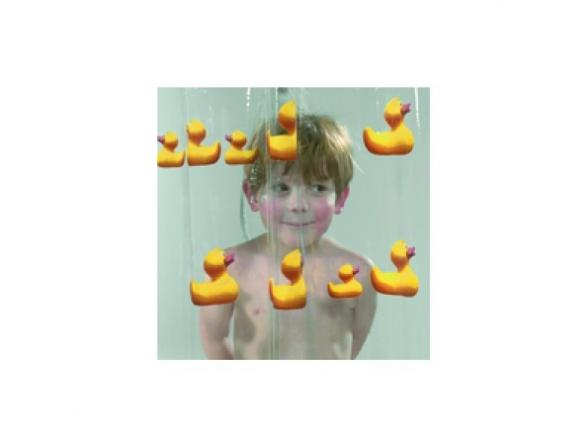 Шторка SEALSKIN Duckling 180х200, винил, желтый (210621343)