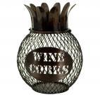 Декоративная емкость для винных пробок BOSTON Pineapple Декоративная емкость для винных пробок 60901