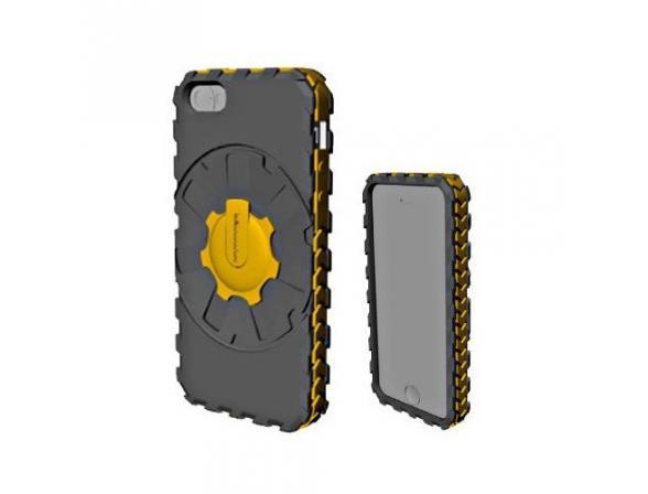 Чехол Qual для iPhone 5 Dual Colors Silicon Case
