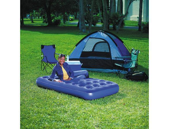 Кровать надувная Bestway Flocked Air Bed Twin 67001