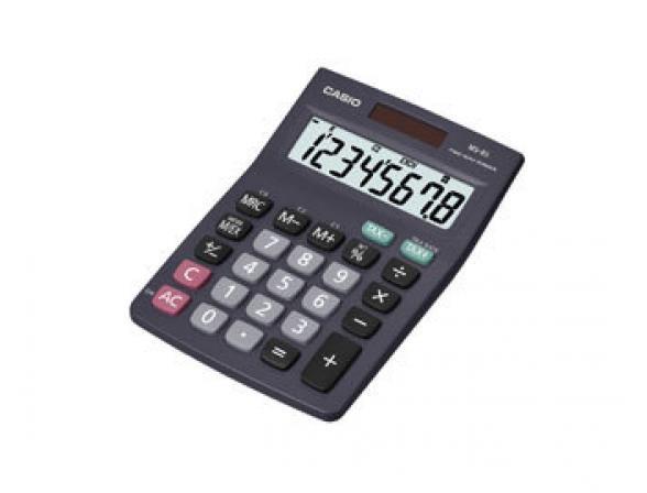 Калькулятор компактный настольный Casio casMS-8S