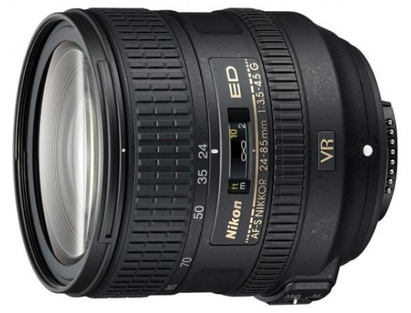 Объектив Nikon 24-85mm f/3.5-4.5G ED-IF VR  AF-S Zoom-Nikkor