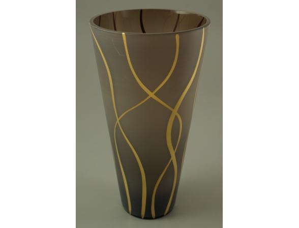 Ваза Crystal Art 27 см, 60031SG (дымка)