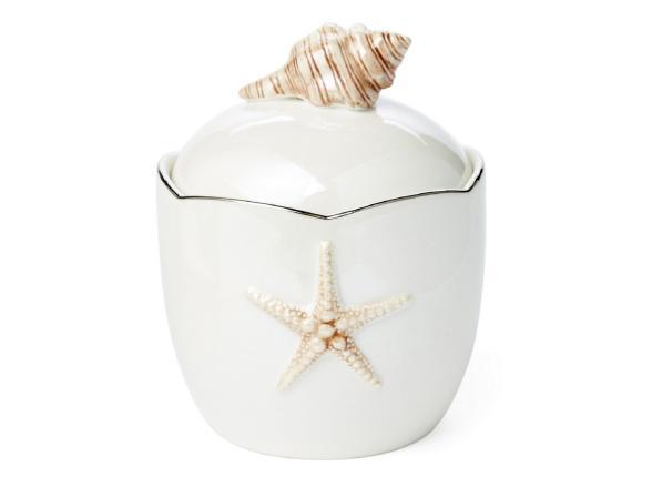 Косметическая емкость KASSATEX Mare Shells Pearl