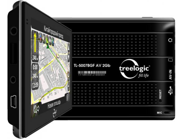Навигатор Treelogic TL-5007BGF AV 2Gb
