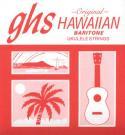 Струны для укулеле баритон GHS strings H-100