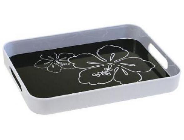 Поднос Kesper 41/31 см.,чёрный, пластик  7746-1