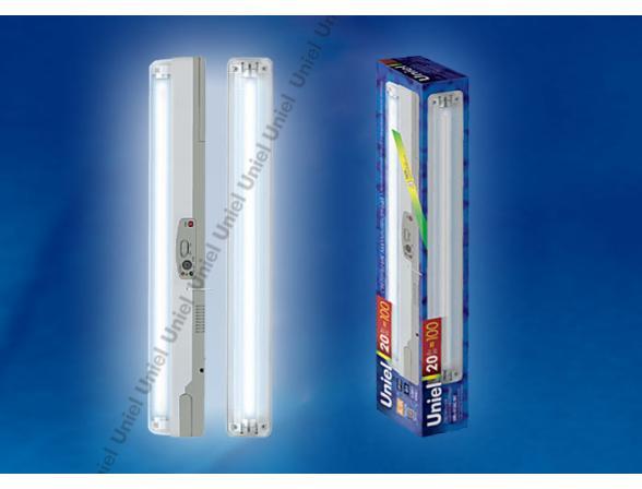 Светильник аккумуляторный Uniel URL-01-DC-T8-20W1-4HRS-WH