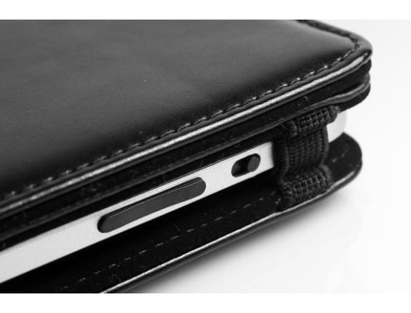 Защитный кожаный чехол премиум класса Promate iPose.8