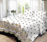 Постельное белье Нордтекс Нежность 2-спальное, поплин