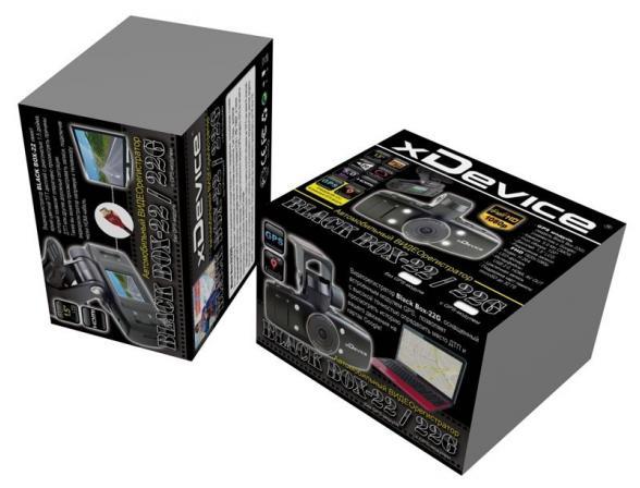 Видеорегистратор xDevice BlackBox-22 G