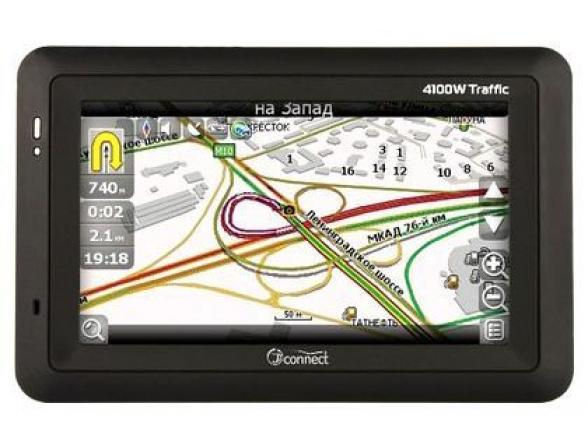 GPS-навигатор JJ-Connect AutoNavigator 4100W Traffic