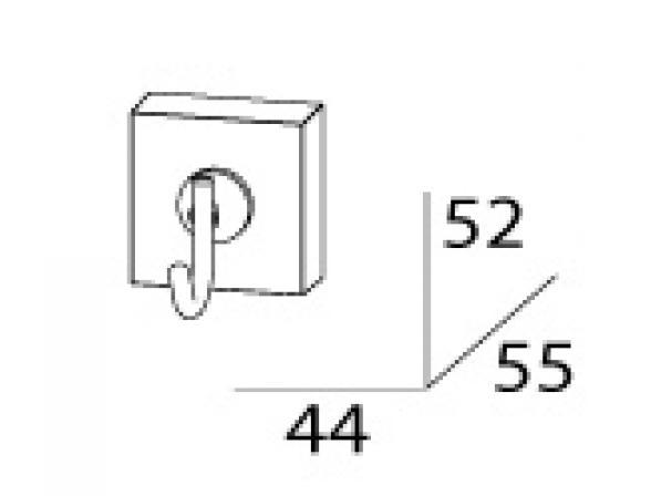 Крючок одинарный FBS ESPERADO ESP 001