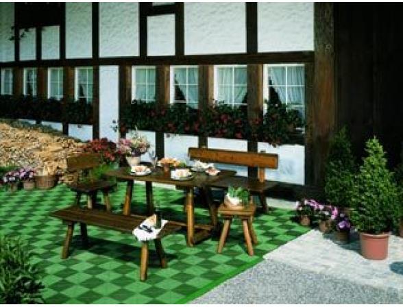 Садовая плитка Plastoform Plasto-rip зеленый