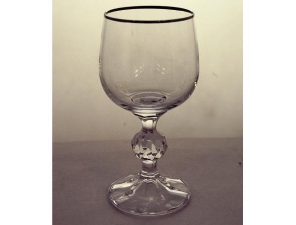 Набор бокалов для вина Bohemia Crystall Клаудия/20733S/150 / х 2