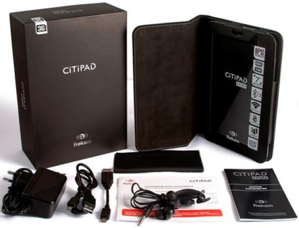 Планшет Rekam CiTiPAD L-700 (3G) black