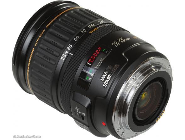 Объектив Canon EF 28-135 f/3.5-5.6 IS USM