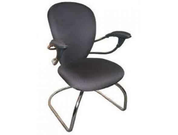 Кресло посетителя на полозьях BURO CH-661AXSN-V/Grey