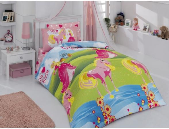 Постельное белье детское ALTINBASAK Creaforce SARA SIRIN 1,5-спальное