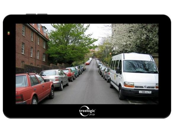 Навигатор Treelogic TL-5014BGF AV HD DVR 4GB