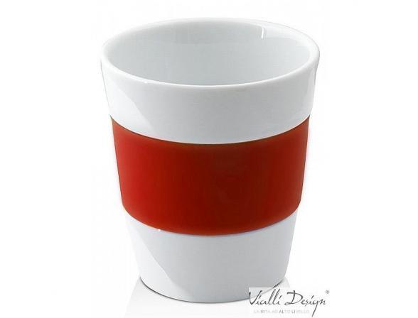 Набор стаканов Vialli Design LIVIO красный LIV-250R