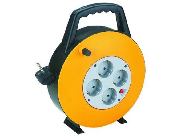 Удлинитель силовой ЭРА BP-4-3x1.0-20m с заземлением 20м 4гн 3х1мм2 (5)