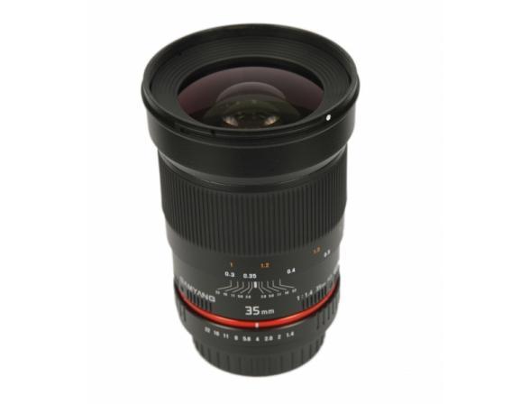 Объектив Samyang 35mm f/1.4 ED AS UMC Canon EF