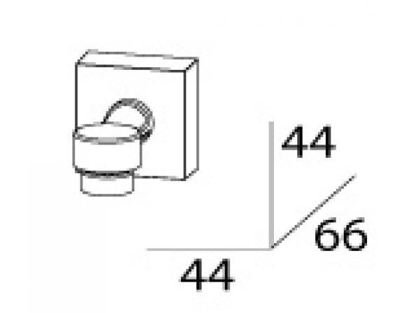 Мыльница магнитная FBS ESPERADO ESP 005