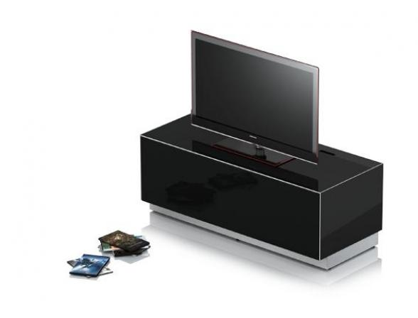 Стойка под TV Elements EMX-13040-GLBLK-FD-BS8-A