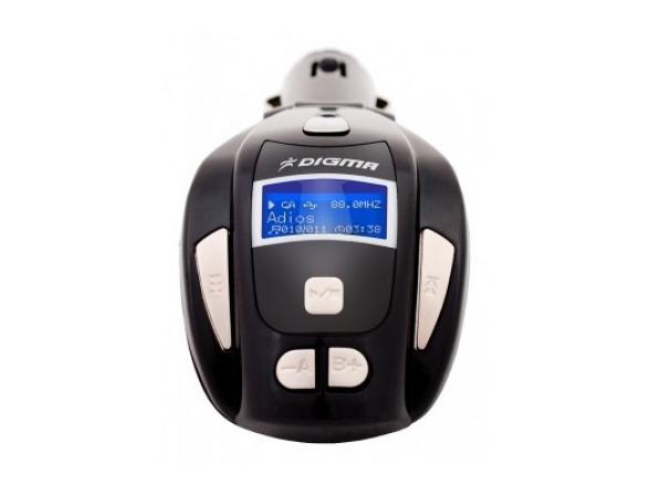 Автомобильный FM трансмиттер Digma Car Modulator ESM200C
