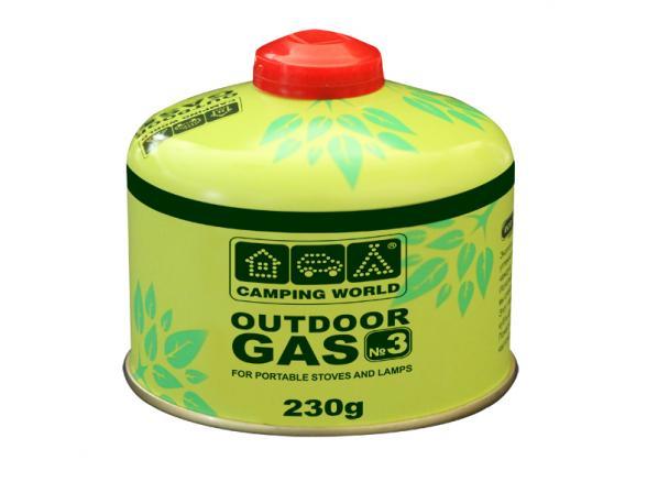 Картридж газовый Camping World 230 г