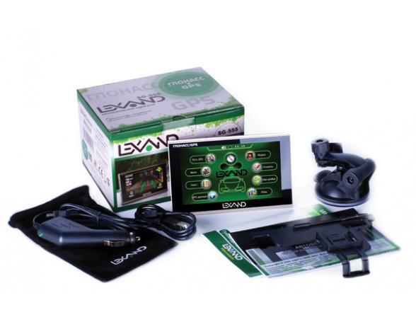 GPS-навигатор Lexand ST-5650 pro HD