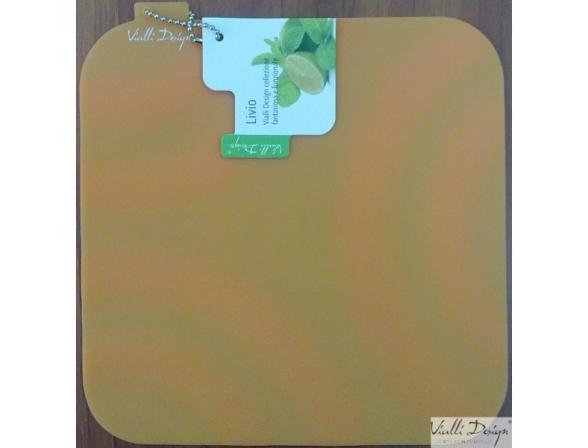 Подставка под горячее Vialli Design оранжевая SIL-1O