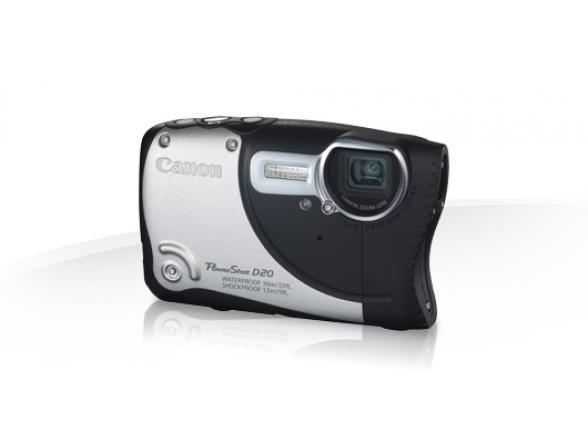 Цифровой фотоаппарат Canon PowerShot D20