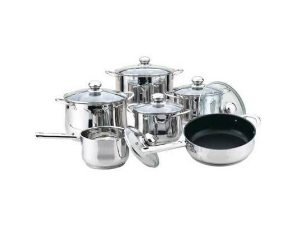 Набор посуды BEKKER deluxe BK-2854
