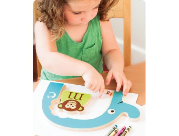 Развивающая игрушка из дерева Skip Hop Alphabet Zoo