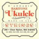 Струны для укулеле баритон D'ADDARIO J68