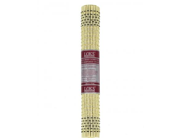 Бамбуковая салфетка для сервировки стола LOKS 30х45 см
