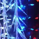 Влагозащищённая светодиодная гирлянда с насадками Flesi