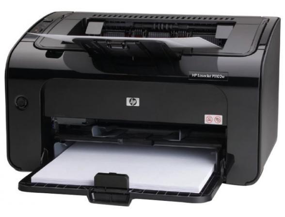 Принтер лазерный HP LaserJet P1102w
