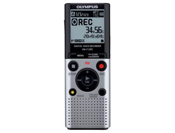 Диктофон Olympus VN-712PC Silver [V405161SE000]