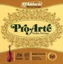 Струны скрипичные D'ADDARIO Medium J56 1/2M Pro-Arte 1/2