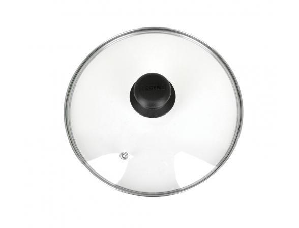 Крышка низкая с пароотводом Regent Inox 93-LID-01-16