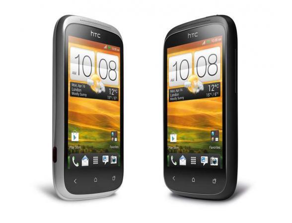 Коммуникатор HTC Desire C Silver
