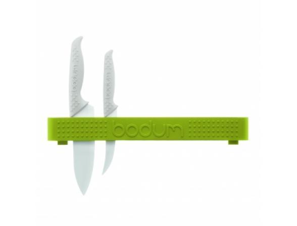 Держатель для ножей BODUM Bistro настенный, зел.