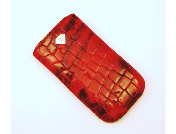 Чехол Rubin для HTC Sensation, Sensation XE красный крокодил