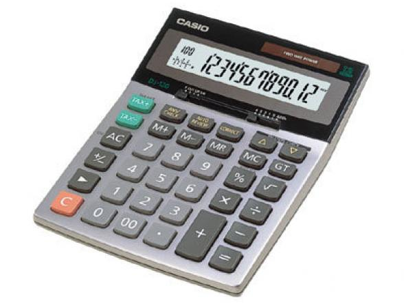 Калькулятор Casio casDJ-120