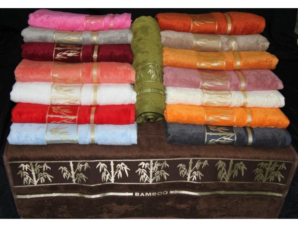 Полотенце бамбуковое ARYA бамбук жаккард Bonita 90x150
